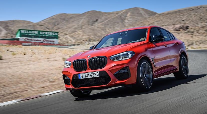 BMW X4 M dinámica
