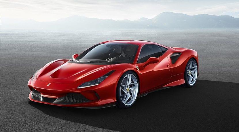 Ferrari F8 Tributo perfil delantero