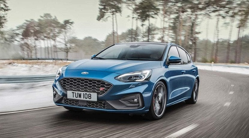 Frontal del Ford Focus ST 2019