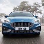 Parrilla del Ford Focus ST 2019