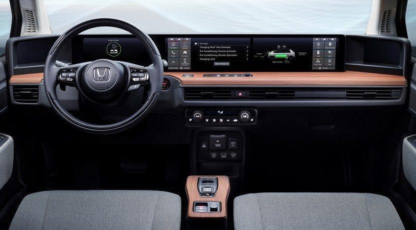 Interior del Honda e Prototype