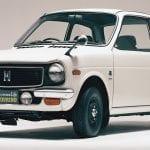 Frontal del Honda Life de 1971 similar al e Prototype