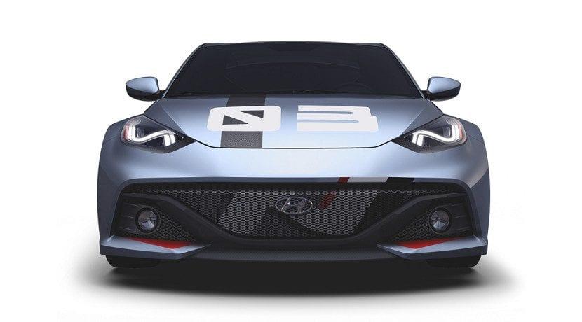 Frontal del RM16, concept en el que se basa el tope de gama de la División N de Hyundai