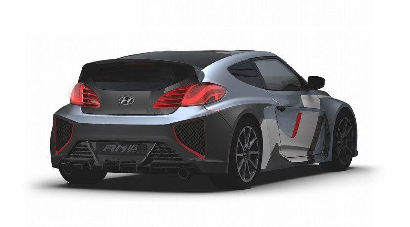 Trasera del RM16, concept en el que se basa el tope de gama de la División N de Hyundai