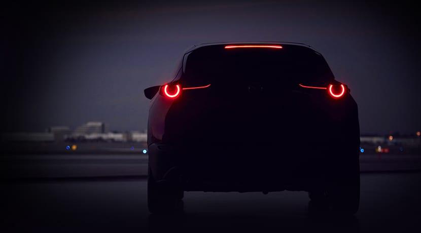 Teaser del nuevo SUV de Mazda para Salón de Ginebra