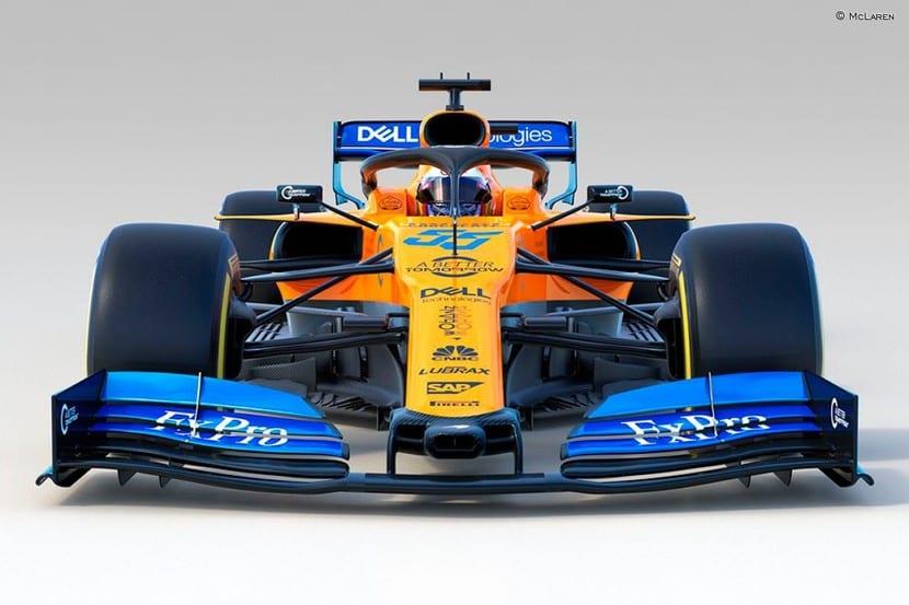 McLaren MCL34 frontal