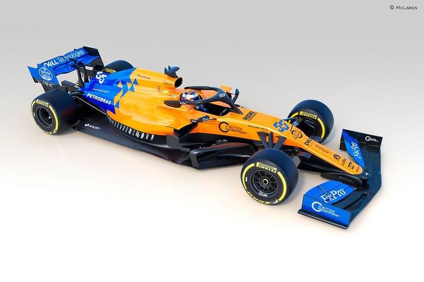 McLaren MCL34 lateral-alzada