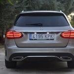 Mercedes C 200 EQ Boost trasera