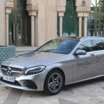 Mercedes C 200 EQ Boost lateral