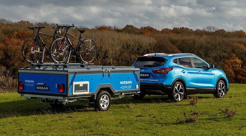 Caravana Nissan X Opus Concept plegada