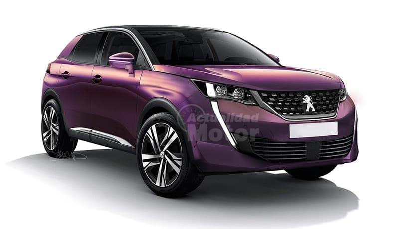 Peugeot 2008 recreación