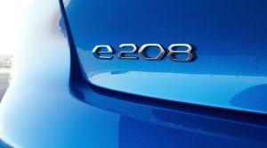 Peugeot e-208 logo