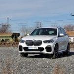 BMW X5 perfil delantero