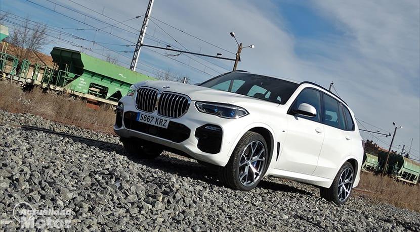 Prueba BMW X5 perfil delantero