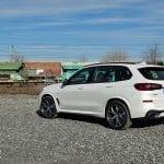 Prueba BMW X5 perfil trasero
