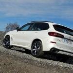 Prueba BMW X5 xDrive30d perfil trasero