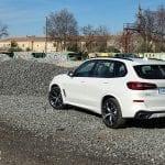 Perfil trasero del BMW X5
