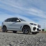 BMW X5 lateral delantera