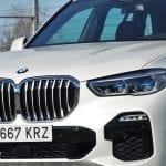 Prueba BMW X5 detalle frontal