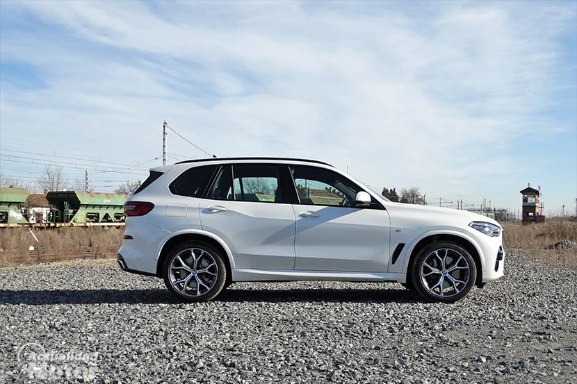 BMW X5 latera