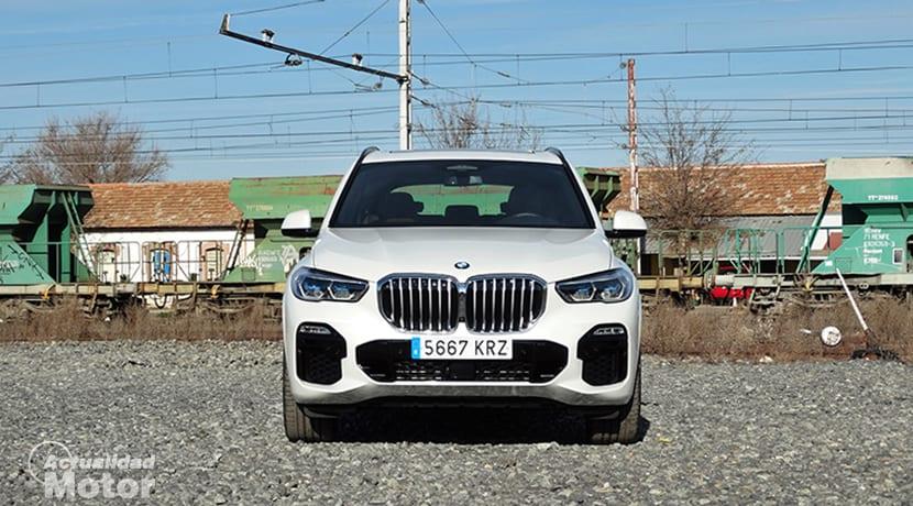 Prueba BMW X5 pack M frontal