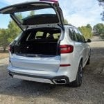 BMW X5 apertura maletero