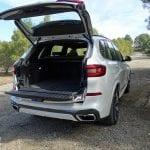 Apertura del maletero del BMW X5