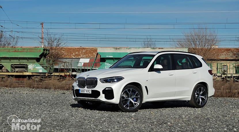Prueba BMW X5 xDrive30d 265 CV perfil