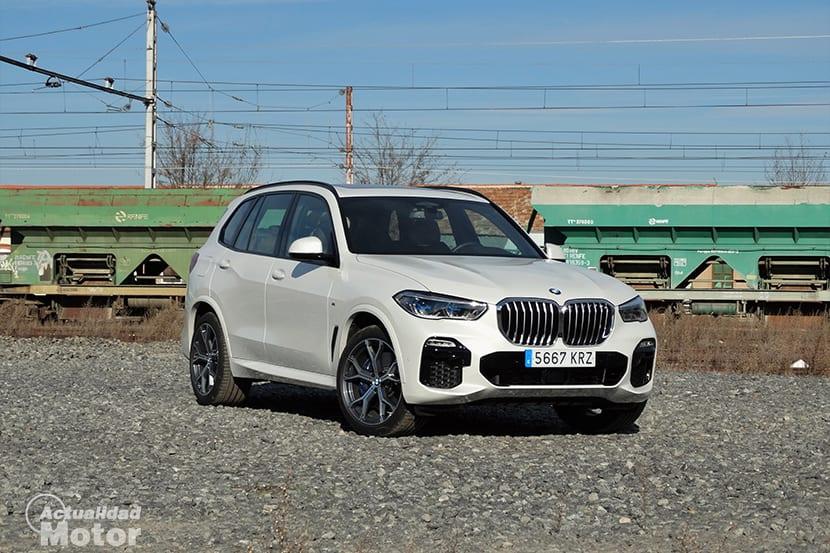 Prueba BMW X5 perfil