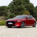 Prueba Mazda3 Skyactiv-G 122 CV perfil delantero