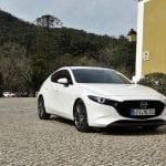 Prueba Mazda3 Hatchback perfil delantero
