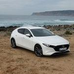 Prueba Mazda3 Skyactiv-D 116 CV perfil delantero