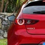 Prueba Mazda3 piloto trasero