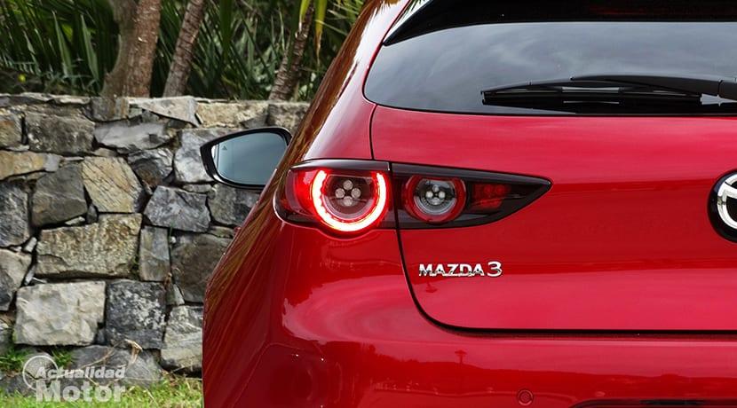 Prueba Mazda3 pilotos traseros