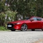 Prueba Mazda3 Skyactiv-G 122 CV lateral