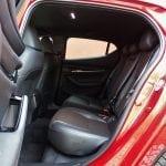 Prueba Mazda3 plazas traseras