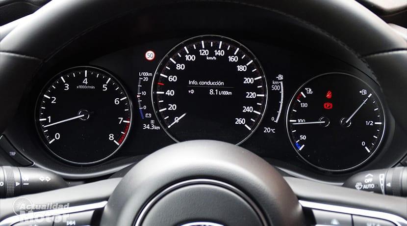 Mazda3 cuadro instrumentos