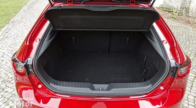 Prueba Mazda3 Hatchback maletero 358 litros
