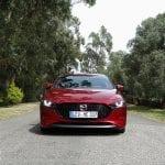 Frontal Prueba Mazda3 Skyactiv-G 122 CV