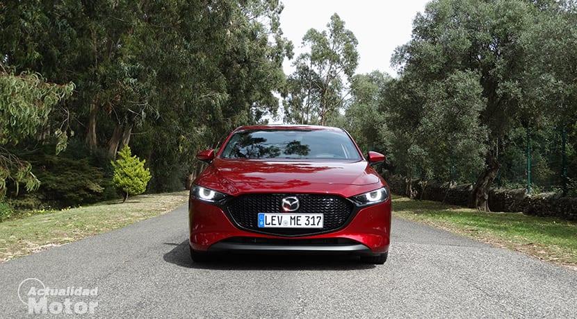 Prueba Mazda3 diseño frontal