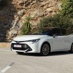 Prueba Toyota Corolla perfil