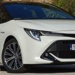 Prueba Toyota Corolla detalle frontal