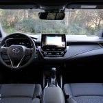 Prueba Toyota Corolla diseño interior