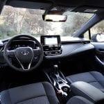 Prueba Toyota Corolla interior