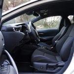 Prueba Toyota Corolla plazas delanteras