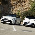 Prueba Toyota Corolla 5 puertas frontal y trasera