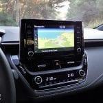 Prueba Toyota Corolla pantalla navegador