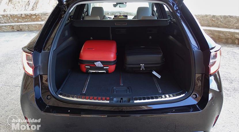Maletero del Toyota Corolla Touring Sports