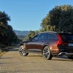 Prueba Volvo V90 Cross Country perfil trasero