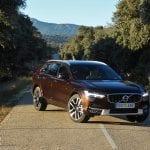 Prueba Volvo V90 Cross Country perfil delantero